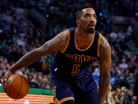 Cavs' J.R. Smith, Celtics' Kelly Olynyk suspended for Game 4 incidents