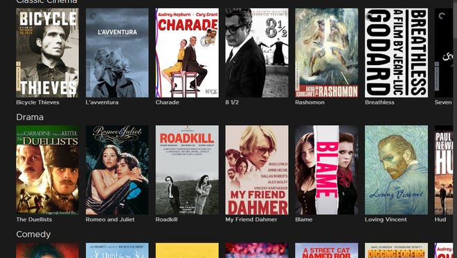 A number of films available through the Phoenix Public Library's Kanopy streaming subscription.