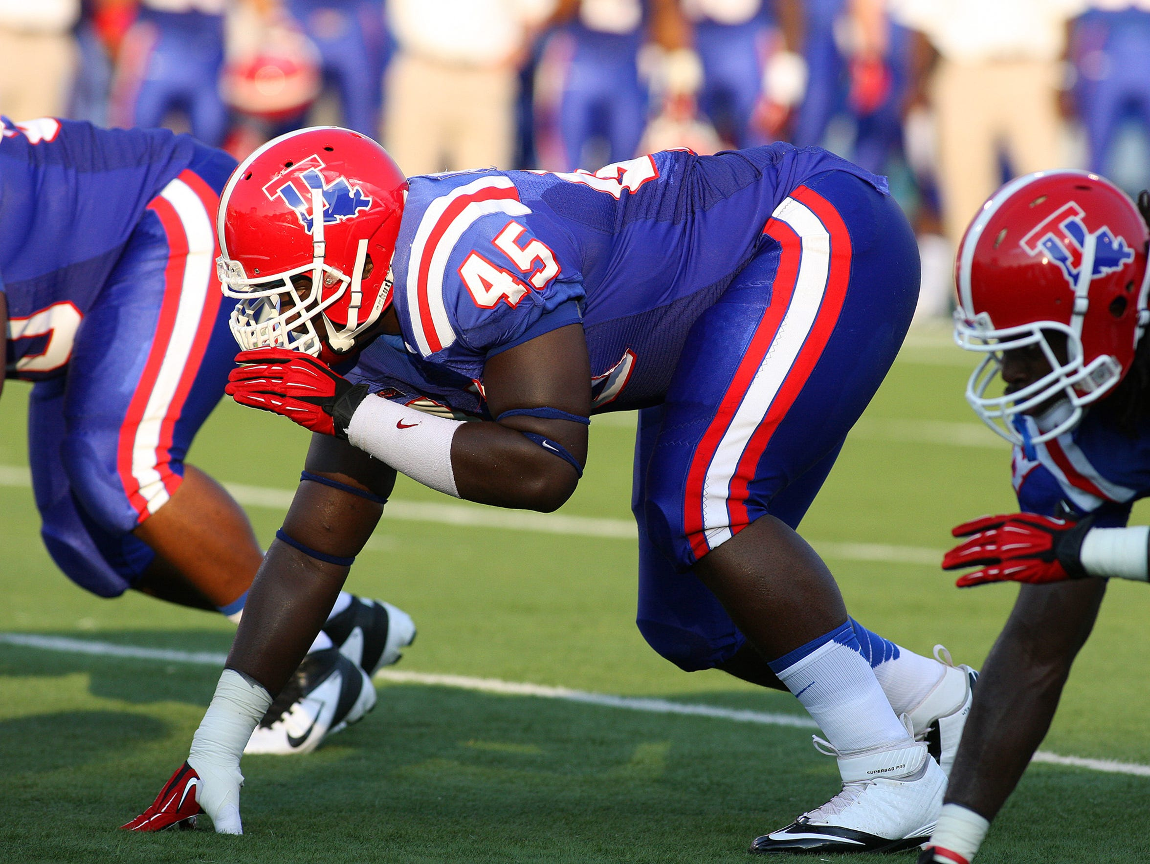 Louisiana Tech defensive tackle Vernon Butler won player