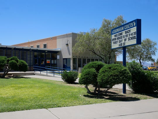 Bonham Elementary, 7024 Cielo Vista Drive, is one of several schools set for closure and consolidation with another elementary school nearby.