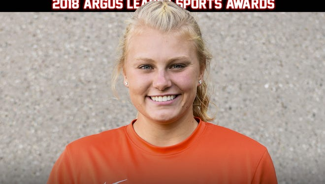 Girls Soccer Player of the Year Hailee Fischer