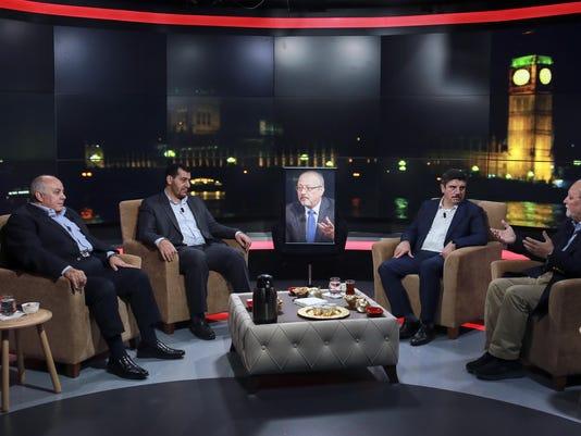 Amro Darraj, Mohammed Kheir Moussa, Yasin Aktay, Azzam Tamimi