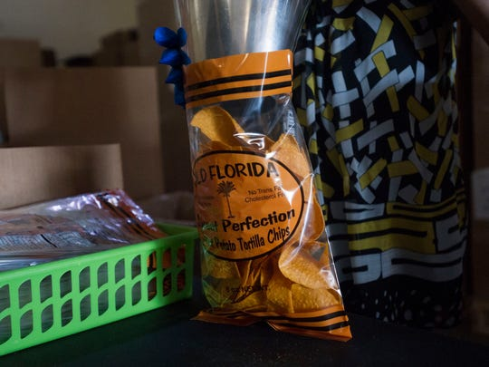 Since forming in 2012, Old Florida Gourmet Products now produces about 100,000 bags of tortilla chips per month, along with almost 140 other products, including salsa, cheese dip, salad dressing, spices, bloody Mary mix and soon, potato chips.