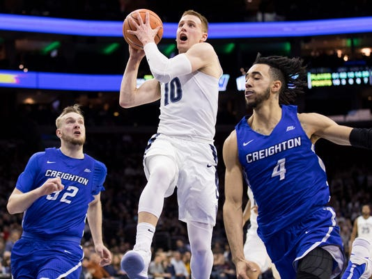 NCAA Basketball: Creighton at Villanova