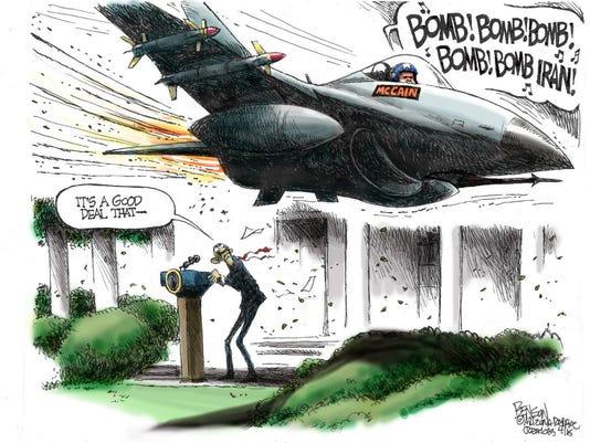 Benson cartoon April 3, 2015