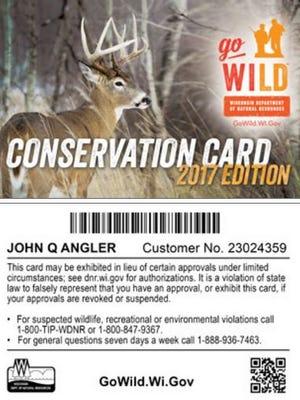 Go Wild Conservation card