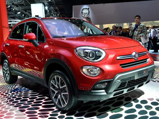 First Look Stylish U S Bound Fiat 500x Crossover