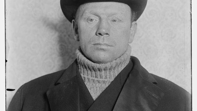 """Blacksmith Bob"" Fitzsimmons trained on North Beach in 1895 for a championship fight with ""Gentleman Jim"" Corbett. There was a panic in town when Fitzsimmons' pet lion escaped and fearful mothers kept their children indoors until the lion was found peacefully asleep under a house."