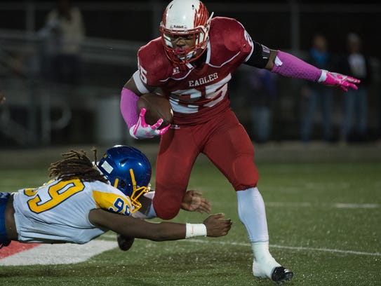 With 374 yards against Sussex Central last Friday, Smyrna senior Will Knight continues to close in on what is believed to be the state's career rushing record.