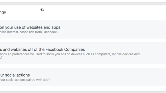Facebook wants to create site-based ads
