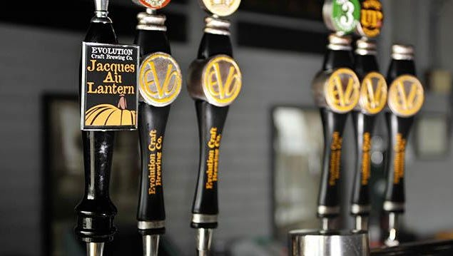 Fall beers on tap at Evolution Craft Brewing Co. in Salisbury.