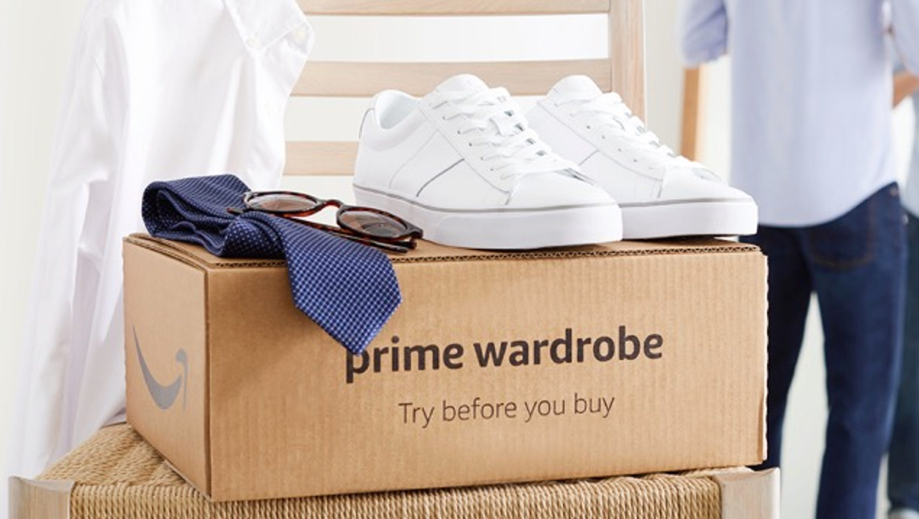 In U.K., Amazon Fashion Launches Prime Wardrobe, its 'Try Before You Buy' Service
