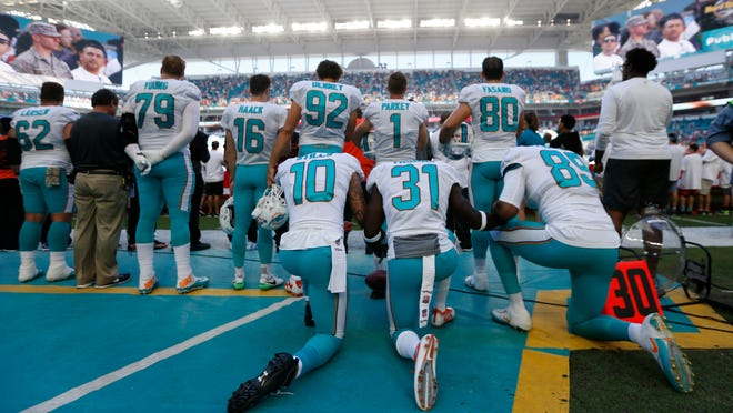 Donald Trump is not pleased with the continued protests throughout the NFL.