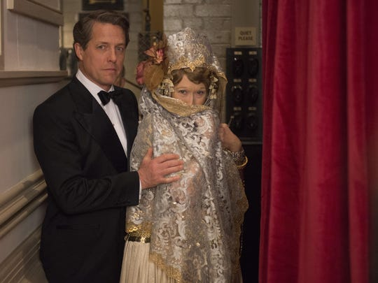 """Hugh Grant as St Clair Bayfield and Meryl Streep as Florence Foster Jenkins in """"Florence Foster Jenkins."""""""