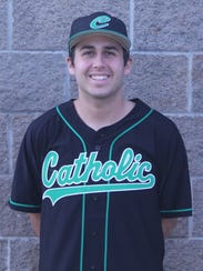 Catholic RHP Griffin Reedy was named to the Collegiate
