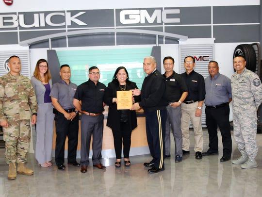 Brig. Gen. Roderick R. Leon Guerrero, The Adjutant