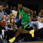 Oregon's Jordan Bell finishes thunderous dunk today against Colorado (video)