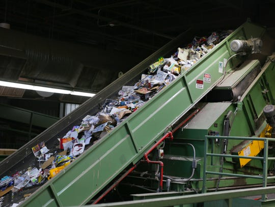 620 tons of recycled goods get processed by the City