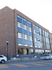 The new Gateway office building in downtown Neenah