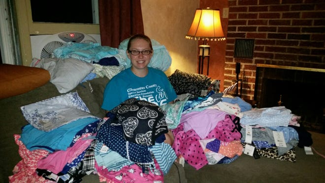 Crystal Allen of Bridgeton recently received a $500 Community Champion grant from The MENTOR Network Charitable Foundation for her work with Mom's Pajamas, a non-profit organization that donates brand new pajamas to women in domestic violence shelters.