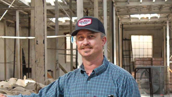 Kerr Wardlaw is general manager of Val Verde Wool & Mohair Company in Del Rio which was founded by his great-grandfather, Dutch Wardlaw, in 1923.