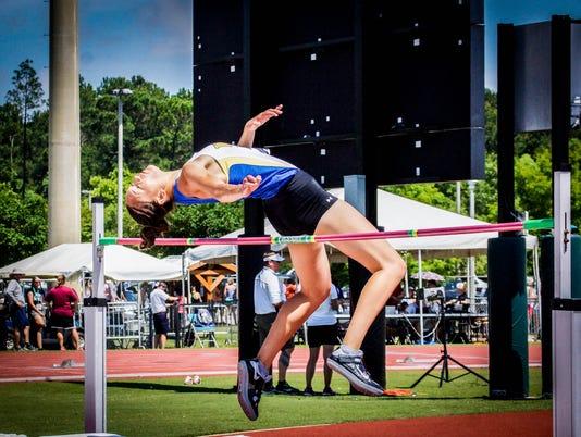 Wayland Baptist high jumper Nina Sato 1