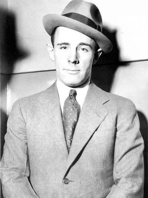 Hilton Crouch, former race driver and associate of John Dillinger.