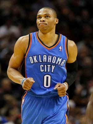 Thunder guard Russell Westbrook had swelling in his surgically repaired right knee and went under the knife again.