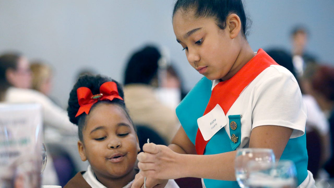 Madelyn Sherrill, 15, of Rochester feels Girl Scouts taught her how to be an upstanding woman.