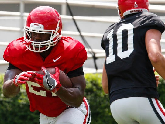 Georgia's Nick Chubb is a key cog of the best running