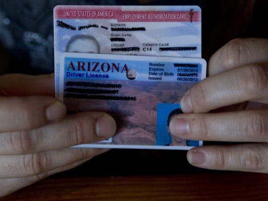 Licencia de conducir de Arizona.