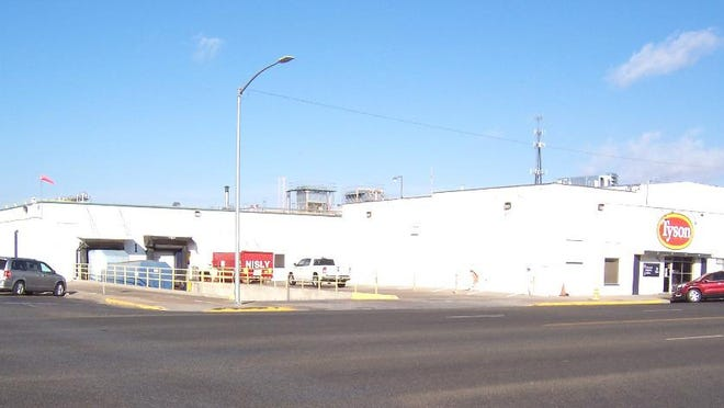 The facility today, addressed as 523 S. Main, is owned by Tyson Prepared Foods Inc. of Springdale, Arkansas.