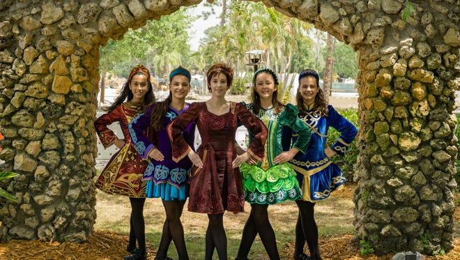 The Kellyn Celtic Arts Irish Dance troupe will perform at the Cape Coral Irish Festival at Sun Splash.