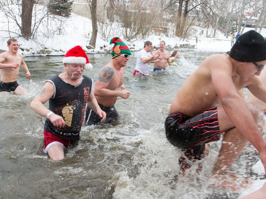 polar plunge file photo