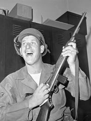 Tigers pitcher Mickey Lolich was a member of the Air National Guard.