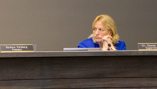 """Denise Birdwell became interim Scottsdale superintendent in January 2016. She has faced criticism this year for her """"Coronado Success Initiative"""" and what critics call questionable hiring practices."""