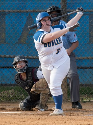 Caitlin Monahan is back in the Butler softball lineup after missing the previous two seasons due to injury.