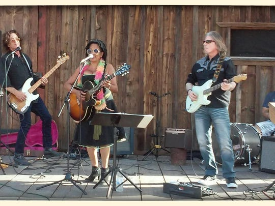 Hunter and the Wick'd, featuring Miri Hunter, will perform at 11:30 a.m. Sunday at Vintage/Vibe.