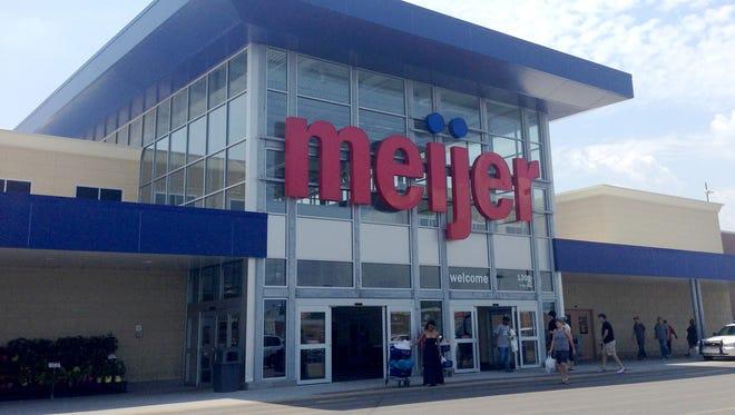 A Meijer store