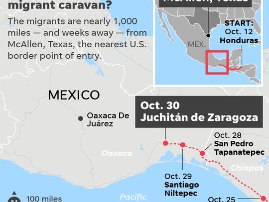 102918-migrant caravan-map_Online