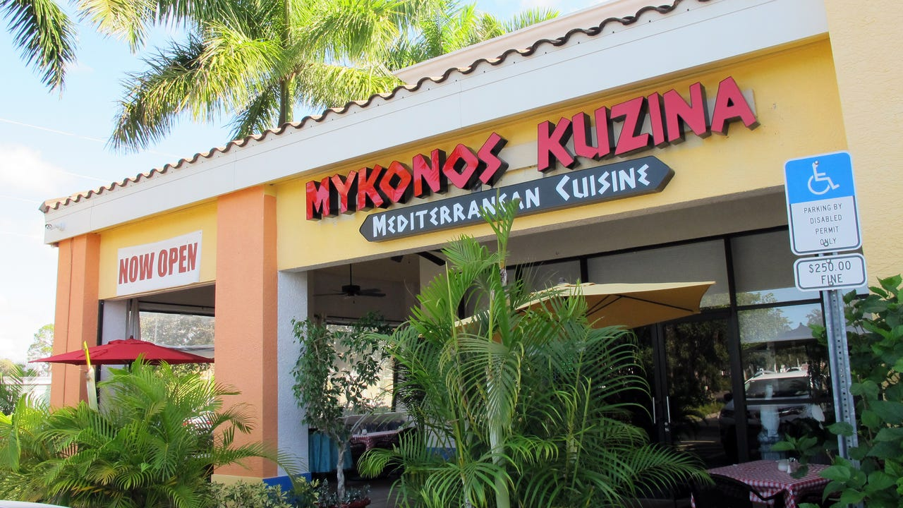 Everything is made from scratch at Mykonos Kuzina, a Greek restaurant open for lunch and dinner during season at U.S. 41 and Wiggins Pass.