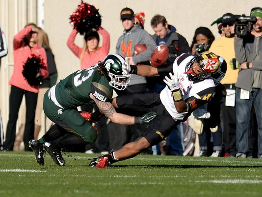 Michigan State versus Maryland