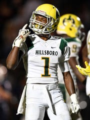 Hillsboro senior Gyasi Mattison is among the top returning high school football athletes for 2018