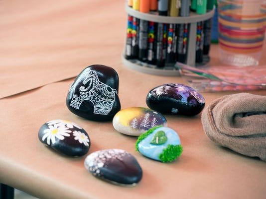 Rock Painting 9