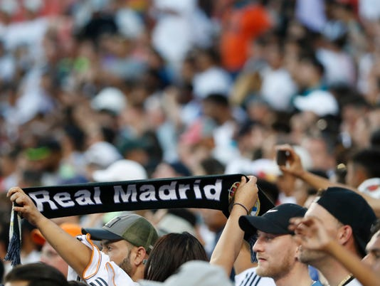 USP SOCCER: INTERNATIONAL CHAMPIONS CUP-REAL MADRI S ICS USA MD