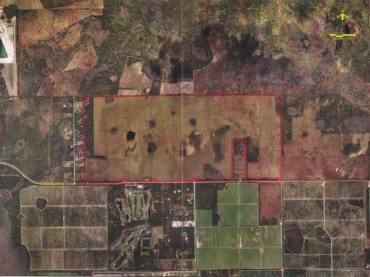 Corkscrew Farms map 1