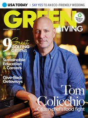 2017 Green Living magazine, on newsstands through June