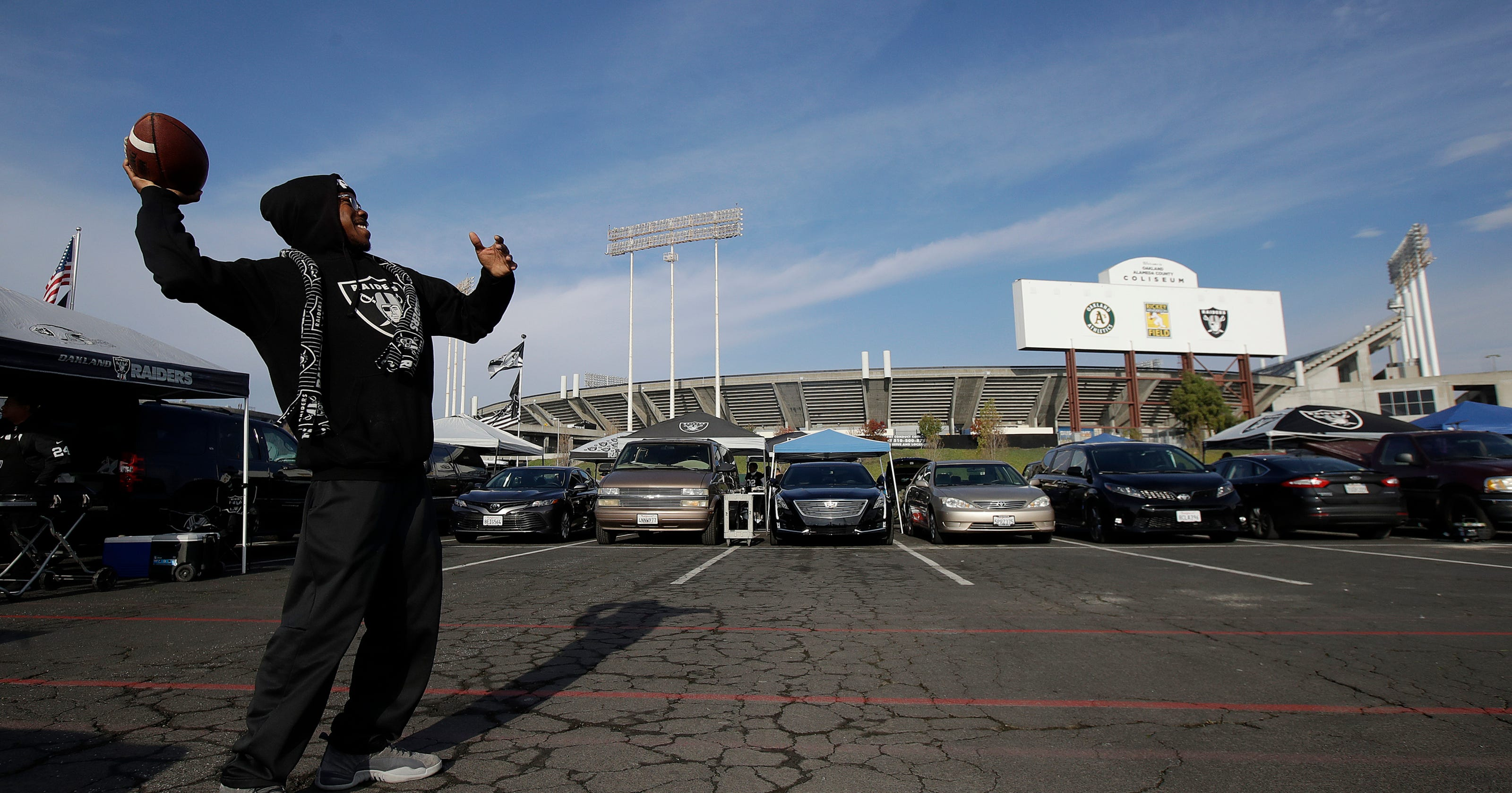 Raiders Prepare For Possible Final Game Ever In Oakland