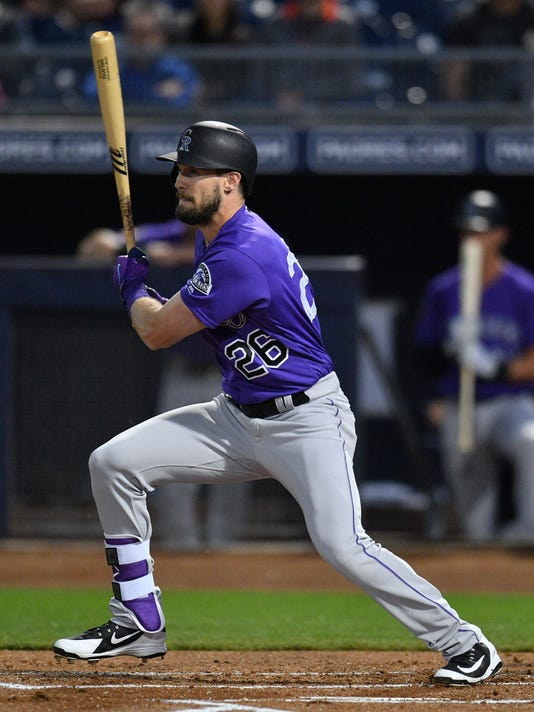 MLB: Spring Training-Colorado Rockies at Seattle Mariners