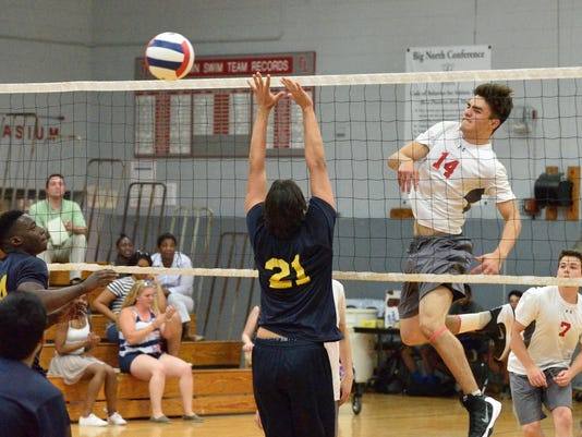 Fair Lawn vs Hackensack: North 1 boys volleyball semi finals